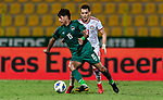 United Arab Emirates vs Iraq during their Asian Qualifiers Final Round Group A match at Zabeel Stadium on October 12, 2021 in Dubai, United Arab Emirates. Photo by Victor Fraile / Power Sport Images for The AFC
