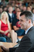 Mikhail Prokhorov At Moscow State University