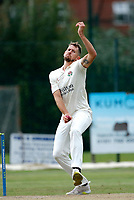23rd September 2021; Aigburth, Liverpool, Merseyside, England; LV=Country Cricket Championship; Lancashire versus Hampshire; Two wickets from Tom Bailey helped finish off the Hampshire tail as they were dismissed for 193 in their second innings setting the home team a target of 196