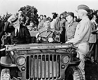 President Roosevelt at Casablanca Conference, 1943