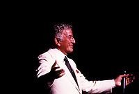 Tony Bennett<br />  at Montreal Jazz festival, July 1997 (exact date unknown)<br /> <br /> PHOTO :  Agence Quebec Presse