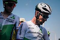 a dissapointed Mark Cavendish  (GBR/Dimension Data) post-race<br /> <br /> Stage 2: Mouilleron-Saint-Germain > La Roche-sur-Yon (183km)<br /> <br /> Le Grand Départ 2018<br /> 105th Tour de France 2018<br /> ©kramon