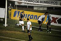 CAXIAS, RS, 02.05.2021 - CAXIAS - GREMIO - O atacante Marlon, da equipe do Caxias, comemora o seu gol, na partida Caxias e Grêmio, válida pela semi final do Campeonato Gaúcho 2021, no estádio Centenário, em Caxias do Sul, neste domingo (2).