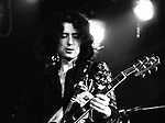 Led Zeppelin 1972 Jimmy Page Alexandra Palace..© Chris Walter..
