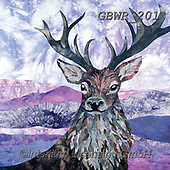 Simon, REALISTIC ANIMALS, REALISTISCHE TIERE, ANIMALES REALISTICOS, innovative, paintings+++++KateF_HeatherStag,GBWR201,#a#, EVERYDAY ,deer