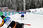 Lou Gibson, Vancouver 2010 - Para Nordic Skiing // Ski paranordique.<br /> Lou Gibson competes in Para Nordic Skiing // Lou Gibson participe en ski paranordique. 14/03/2010.