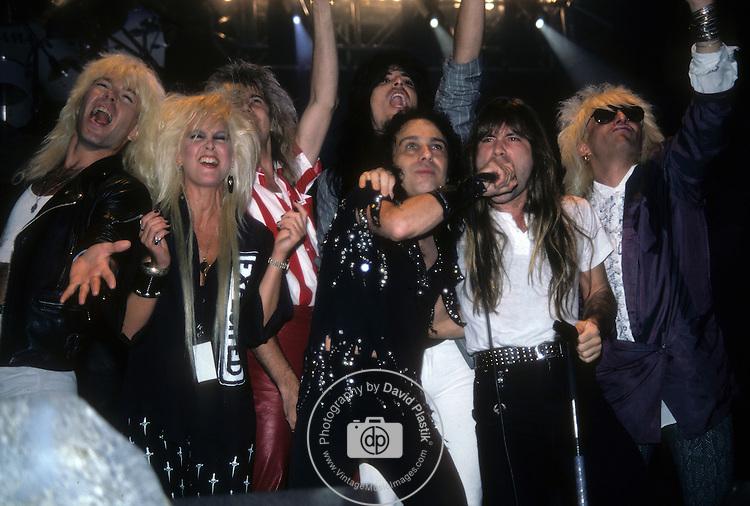 Lita Ford ,David Henzerling, Ronnie James Dio, Bruce Dickenson, Johnny Rod, Nadir D'Priest