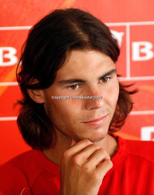18-4-07, Monaco,Master Series Monte Carlo, Rafael Nadal