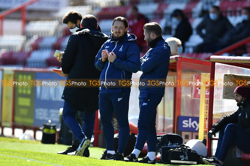 Bradford City AFC Manager Conor Sellars during Stevenage vs Bradford City, Sky Bet EFL League 2 Football at the Lamex Stadium on 5th April 2021