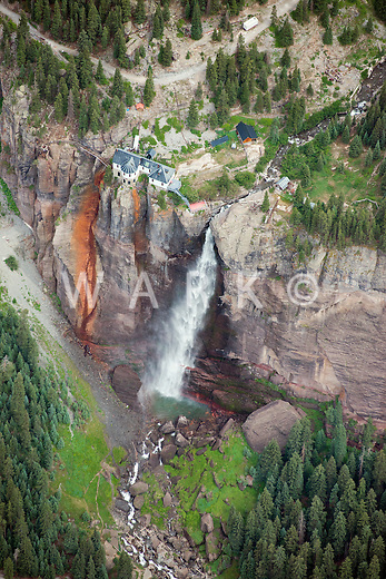 Bridel Veil Fall, Telluride, Colorado.  July 21, 2013. 80485