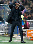 Atletico de Madrid's coach Diego Pablo Cholo Simeone during Champions League 2016/2017 Round of 16 2nd leg match. March 15,2017. (ALTERPHOTOS/Acero)