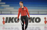 SCHAATSEN: HEERENVEEN: 10-10-2020, KNSB Trainingswedstrijd, Jan Blokhuijsen, ©foto Martin de Jong
