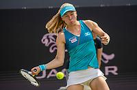 Rosmalen, Netherlands, 11 June, 2019, Tennis, Libema Open, Johanna Larsson (SWE), wom,<br /> Photo: Henk Koster/tennisimages.com