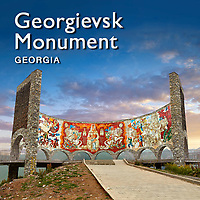 Pictures & Images of the Treaty of Georgievsk or Friendship Monument Georgia -