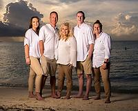 Gorman family at Somerset Long Bay