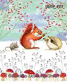 Kate, CHRISTMAS ANIMALS, WEIHNACHTEN TIERE, NAVIDAD ANIMALES, paintings+++++,GBKM685,#xa#