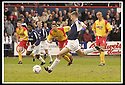26/04/2003                   Copyright Pic : James Stewart.File Name : stewart-falkirk v ayr 09.SCOTT MCKENZIE SCORES FALKIRK'S THIRD FROM THE PENALTY SPOT......James Stewart Photo Agency, 19 Carronlea Drive, Falkirk. FK2 8DN      Vat Reg No. 607 6932 25.Office     : +44 (0)1324 570906     .Mobile  : +44 (0)7721 416997.Fax         :  +44 (0)1324 570906.E-mail  :  jim@jspa.co.uk.If you require further information then contact Jim Stewart on any of the numbers above.........