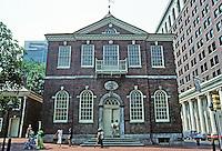 Philadelphia: Congress Hall 1787-1789. Photo '88.