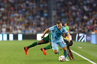 ST PAUL, MN - JULY 24: Robin Lod #17 of Minnesota United FC during a game between Portland Timbers and Minnesota United FC at Allianz Field on July 24, 2021 in St Paul, Minnesota.