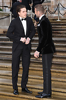 """Brooklyn and David Beckham<br /> arriving for the world premiere of """"Our Planet"""" at the Natural History Museum, London<br /> <br /> ©Ash Knotek  D3491  04/04/2019"""