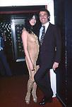 PAMELA PRATI  CON FRANCO CALIFANO<br /> FESTA DEI 10 ANNI DI PLAYBOY - PIPER CLUB ROMA 1980