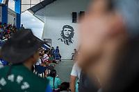 "Supporters of former Bolivian President Evo Morales, known as coca growers ""cocaleros"", gather for a union's meeting, in Lauca Eñe, Chapare province, Bolivia. November 26, 2019.<br /> Les partisans de l'ancien président bolivien Evo Morales, connus sous le nom de cultivateurs de coca ""cocaleros"", se réunissent à Lauca Eñe, province du Chapare, en Bolivie. 26 novembre 2019."