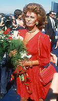 Sophia Loren 1990, Photo By John Barrett/PHOTOlink