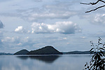 A small portion of the Quabbin Reservoir as seen near the Goodnough dike on the eastern side of this large man-made body of drinking water in Massachusetts.