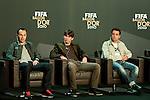 Andres Iniesta (ESP), Lionel Messi (ARG) und Xavi (ESP) die Kandidaten fuer den FIFA Ballon D'Or (Andreas Meier/EQ Images)