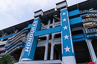 SAN PEDRO SULA, HONDURAS - SEPTEMBER 8: Estadio Olimpico Metropolitano before a game between Honduras and USMNT at Estadio Olímpico Metropolitano on September 8, 2021 in San Pedro Sula, Honduras.