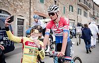selfie with Mathieu Van der Poel (NED/Alpecin-Fenix) post-stage<br /> <br /> Stage 2 from Camaiore to Chiusdino (202km)<br /> <br /> 56th Tirreno-Adriatico 2021 (2.UWT) <br /> <br /> ©kramon