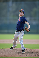 Andrew Patrick (64) of Columbus, Ohio during the Baseball Factory Pirate City Christmas Camp & Tournament on December 28, 2018 at Pirate City in Bradenton, Florida. (Mike Janes/Four Seam Images)