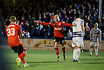 Barrie McKay celebrates after firing Rangers into a two goal lead