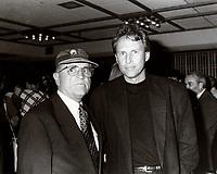 Serge Losique, Pierre Brousseau (R) in August 1994<br /> <br /> File Photo  :  Agence Quebec Presse - Pierre Roussel