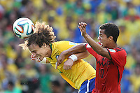 Fortaleza, Brazil - Tuesday, June 17, 2014: Mexico and Brazil played to a 0-0 draw during World Cup group play at Estádio Castelão.<br /> <br /> 17/06/2014/MEXSPORT/FOTO ARENA <br /> <br /> Estadio Castelao, Fortaleza , Ceara , Brasil