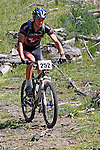Ethan Glover leads the field early on. Mammoth Adventure MTB Ride, Nelson<br /> Photo: Marc Palmano/shuttersport.co.nz