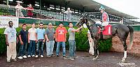 Farce winning at Delaware Park on 6/27/13