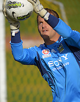 120717 A-League Football - Wellington Phoenix Training