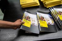 """Vorstellung des Report """"Leben in Unsicherheit"""" von Amnesty International-Deutschland am Donnerstag den 9. Juni 2016 in der Bundespressekonferenz.<br /> 9.6.2016, Berlin<br /> Copyright: Christian-Ditsch.de<br /> [Inhaltsveraendernde Manipulation des Fotos nur nach ausdruecklicher Genehmigung des Fotografen. Vereinbarungen ueber Abtretung von Persoenlichkeitsrechten/Model Release der abgebildeten Person/Personen liegen nicht vor. NO MODEL RELEASE! Nur fuer Redaktionelle Zwecke. Don't publish without copyright Christian-Ditsch.de, Veroeffentlichung nur mit Fotografennennung, sowie gegen Honorar, MwSt. und Beleg. Konto: I N G - D i B a, IBAN DE58500105175400192269, BIC INGDDEFFXXX, Kontakt: post@christian-ditsch.de<br /> Bei der Bearbeitung der Dateiinformationen darf die Urheberkennzeichnung in den EXIF- und  IPTC-Daten nicht entfernt werden, diese sind in digitalen Medien nach §95c UrhG rechtlich geschuetzt. Der Urhebervermerk wird gemaess §13 UrhG verlangt.]"""