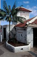 Spanien, Kanarische Inseln, Gomera, Restaurant Las Rosas