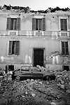EARTHQUAKE IN ABRUZZO: THE FIRST 72 HOURS..L'AQUILA, PAGANICA, ONNA