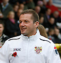 Stevenage manager Graham Westley<br />  - Stevenage v Portsmouth - FA Cup 1st Round  - Lamex Stadium, Stevenage - 9th November, 2013<br />  © Kevin Coleman 2013