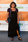 Loles Leon poses for the photographers during 2015 Theater Ceres Awards photocall at Merida, Spain, August 27, 2015. <br /> (ALTERPHOTOS/BorjaB.Hojas)