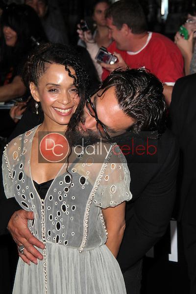 "Lisa Bonet, Jason Momoa<br /> at the ""Divergent"" Los Angeles Premiere, Regency Bruin Theatre, Westwood, CA 03-18-14<br /> Dave Edwards/DailyCeleb.com 818-249-4998"