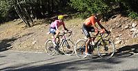 3rd September 2020; Le Teil to Mont Aigoual , France. Tour de France cycling tour, stage 6; Ccc 2020, Ef Van Avermaet, Greg Powless, Neilson Mont Aigoual
