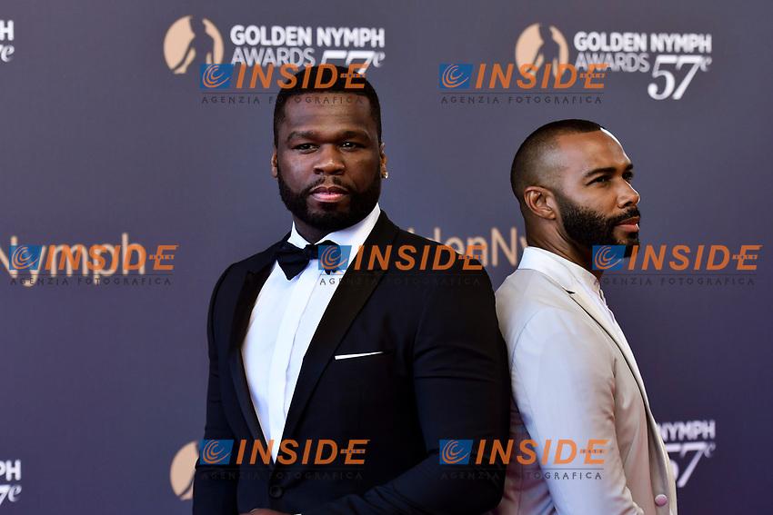 Curtis Jackson 50 Cent et Omari Hardwick Monaco - 20/06/2017<br /> 57 festival TV Monte Carlo <br /> Foto Norbert Scanella / Panoramic / Insidefoto