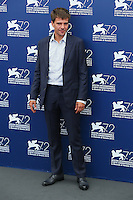 Domenico Diele attends the photocall for the movie 'The Wait' during 72nd Venice Film Festival at the Palazzo Del Cinema, in Venice, Italy, September 5, 2015. <br /> UPDATE IMAGES PRESS/Stephen Richie