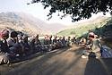 Iraq 1985  Dr. Said Barzani, military chief in the district of Lolan meeting his peshmergas  Irak 1985  Dr_ Said Barzani, commandant militaire de la region du Lolan, discutant avec ses peshmergas