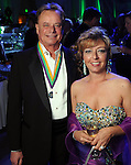Jordy Tollett and Mary Windsor at the San Luis Salute in Galveston Friday  Feb. 08, 2013.(Dave Rossman/ For the Chronicle)
