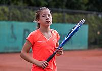 Hilversum, Netherlands, August 9, 2017, National Junior Championships, NJK, Isis van den Broek<br /> Photo: Tennisimages/Henk Koster